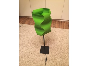 Wave - lampshade