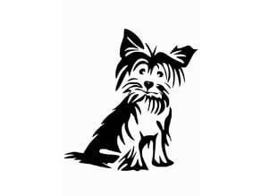 Dog stencil 2