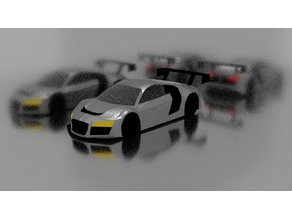 Audi R8 LMS Ready To Print