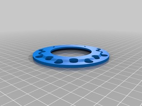 Spool holder reduction from 50 to 75 mm