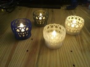LED Tealight Holder