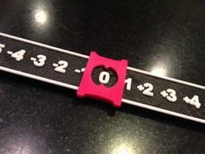 Number Line (integers)