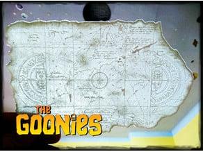 GOONIES  MAP