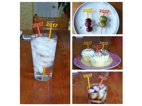 Graduation Party Picks and Swizzle Sticks