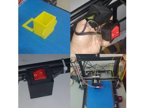 Prusa i3 Power Switch Cover