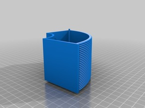 Spool drawer with filament lines