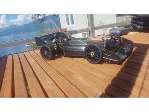 RC buggy speed run F-1 conversion mugen mbx-6 eco /will fit almost all 8th scale buggys with minimal modifications