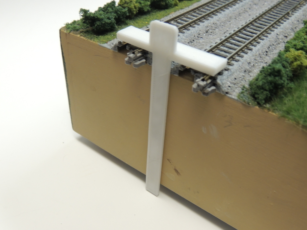 T-Trak Module Height Gauges -- T-Square style by