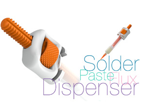 Solder paste and flux Dispenser