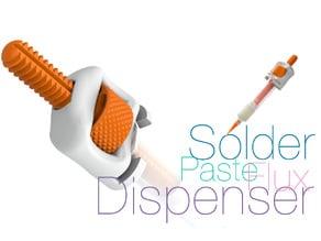 Solder paste and flux Dispenser