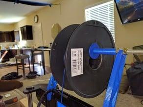 Alunar Prusa i3 (A8) Spacer for frame mounted spool holder