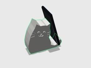 Simple Phone Holder Cat