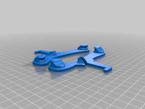 Minimal Frame Spool Holder for Prusa I3