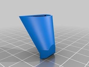 Geeetech Aluminium / Mk 8 Extruder additional fan shroud