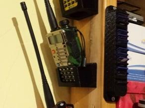 UV5R+ Wall holder