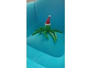 Chrismas Articulated Cartoon Octopus