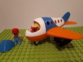 Duplo none-puzzle plane