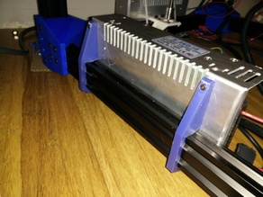 Parametric V-Slot/T-Slot Power Supply Mount