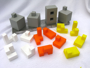 Construction Puzzles with Four Answers