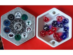 Ravnica Magnetic Dice Box