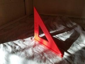 Print Flat Speed Square