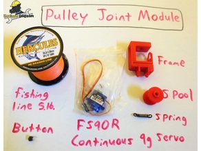 Hobby Servo Pulley Module *TINY_CNC_COLLECTION