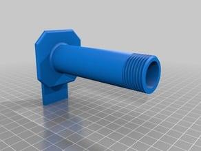 Makerbot filament holder (for smaller reel holes)