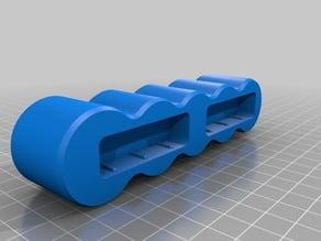 "Magnetic Socket Holder - Compact Set of 5 1/2"" drive"