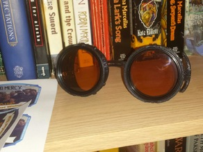 Geared Steampunk Goggles