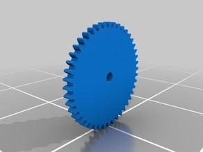 1:4 ratio double gear