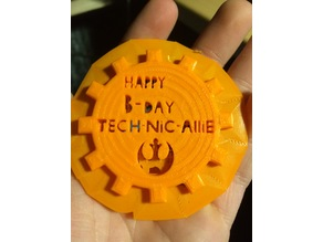 birthday coin tech-nic-allie