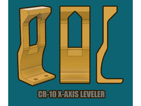 CR-10 X Axis Level Guide