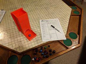 Design-It-Yourself Dice Tower