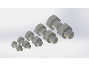 Nuts and Bolts m10-m12-m16-m20-m24