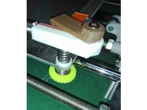 anet a8 bed leveling knob enlarger ?!?!?
