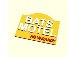 BATS MOTEL SIGN