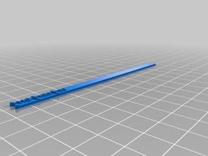 Pergo 100mm Extruder Calibration Bar