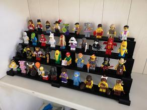 Display stand for Lego minifigures