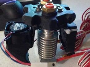 Mini Kossel Dual Extruder