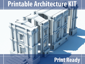 Printable Architecture Kit 2 Victorian Town House