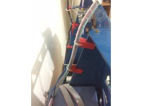 Cable tie fixing for 3mm thickness frame