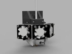 E3d V6 hotend mount for Prusa i3