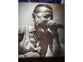 Chester Bennington of Linkin Park Lithophane