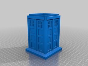 Tardis Pen Holder