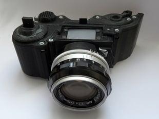 3DPrinted Camera - Open Reflex