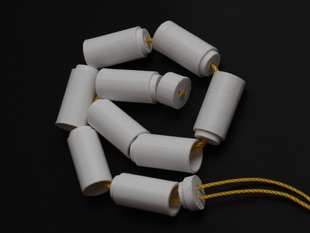 Unbreakable Tube (with a string inside)