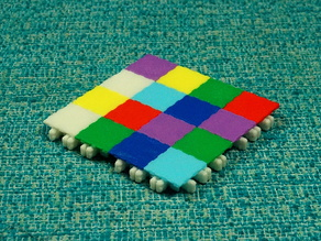 BuckleTiles Master Set, for use with BuckleBoards, the Open Source Building Block