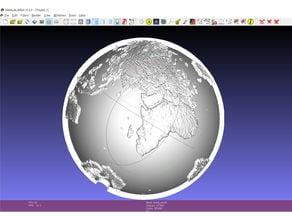 Spherical lithophane