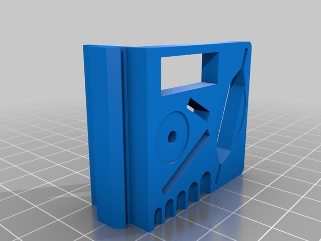 Frame Mounted Creality 3D Ender 3 Tool Holder by kevfquinn