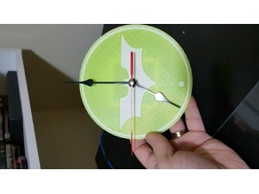 Batman Wall Clock - dual color